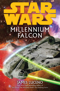 millennium falcon cover art